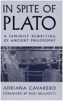 In spite of Plato
