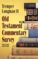 Download Old Testament commentary survey