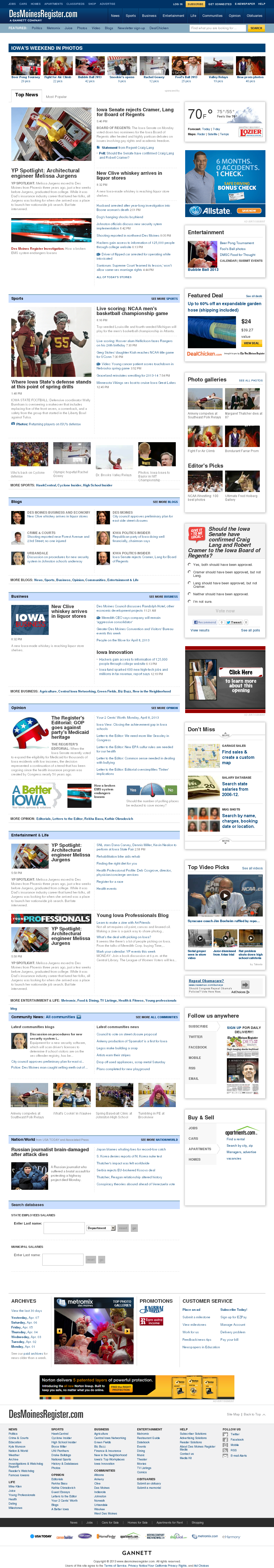 DesMoinesRegister.com at Tuesday April 9, 2013, 2:04 a.m. UTC