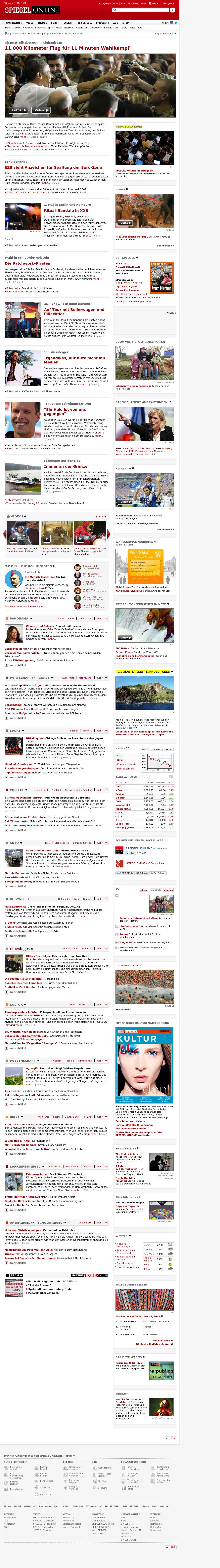 Spiegel Online at Wednesday May 2, 2012, 7:16 a.m. UTC