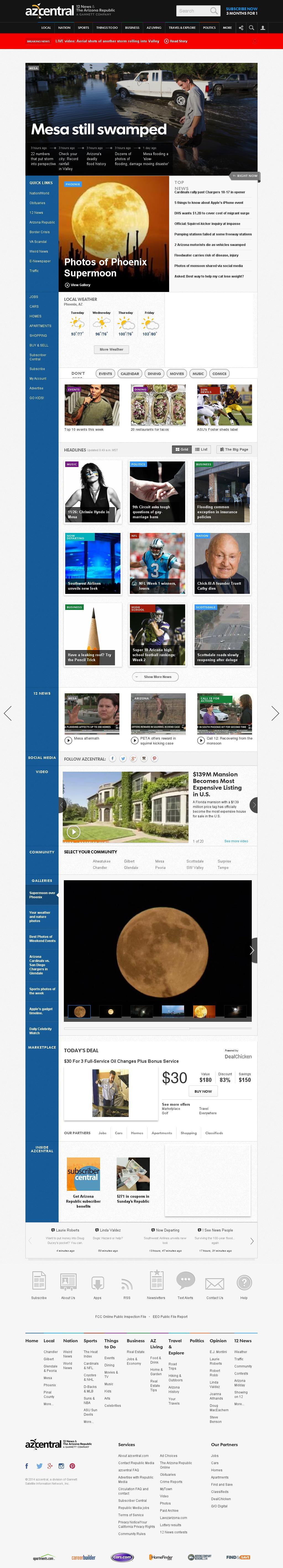 azcentral.com at Tuesday Sept. 9, 2014, 6 p.m. UTC