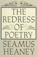 The redress of poetry by Seamus Heaney